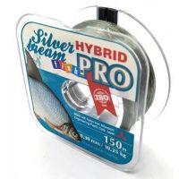 Леска FishPRO Hybrid Silver Bream 150м, 0,25мм, 7,60кг, серая