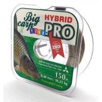 Леска FishPRO Hybrid Big Karp 150м, 0,28мм, 8,95кг, коричневая