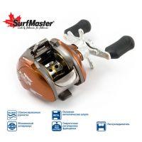 Мультипликаторная катушка Surf Master Focus FC10A 6+2bb R кастинг + смазка