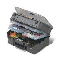 Ящик PLANO 1444-02 с 4 ур. системой для приманок и аксессуаров