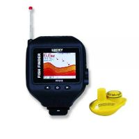 Рыбопоисковый эхолот LUCKY FF 518 с функцией часов один беспроводной датчик