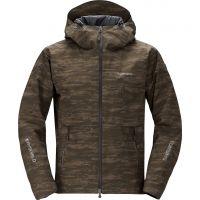 Куртка утеплённая Shimano RB-04JS Dryshield (р.р EU-M/ JP-L) цвет Коричневый камуфляж