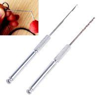 Набор алюминиевых сверел + игла для вязания