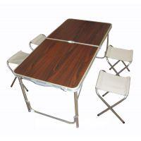 Стол складной кемпинговый + стулья