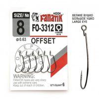 Офсетный крючок Fanatik FO-3312-XL №8