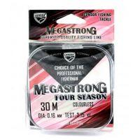 Леска Megastrong Four Seasons 30 м(0.08 мм)
