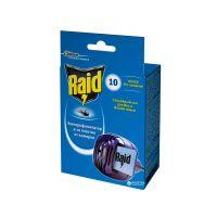 Электрофумигатор RAID с пластинами 10 шт